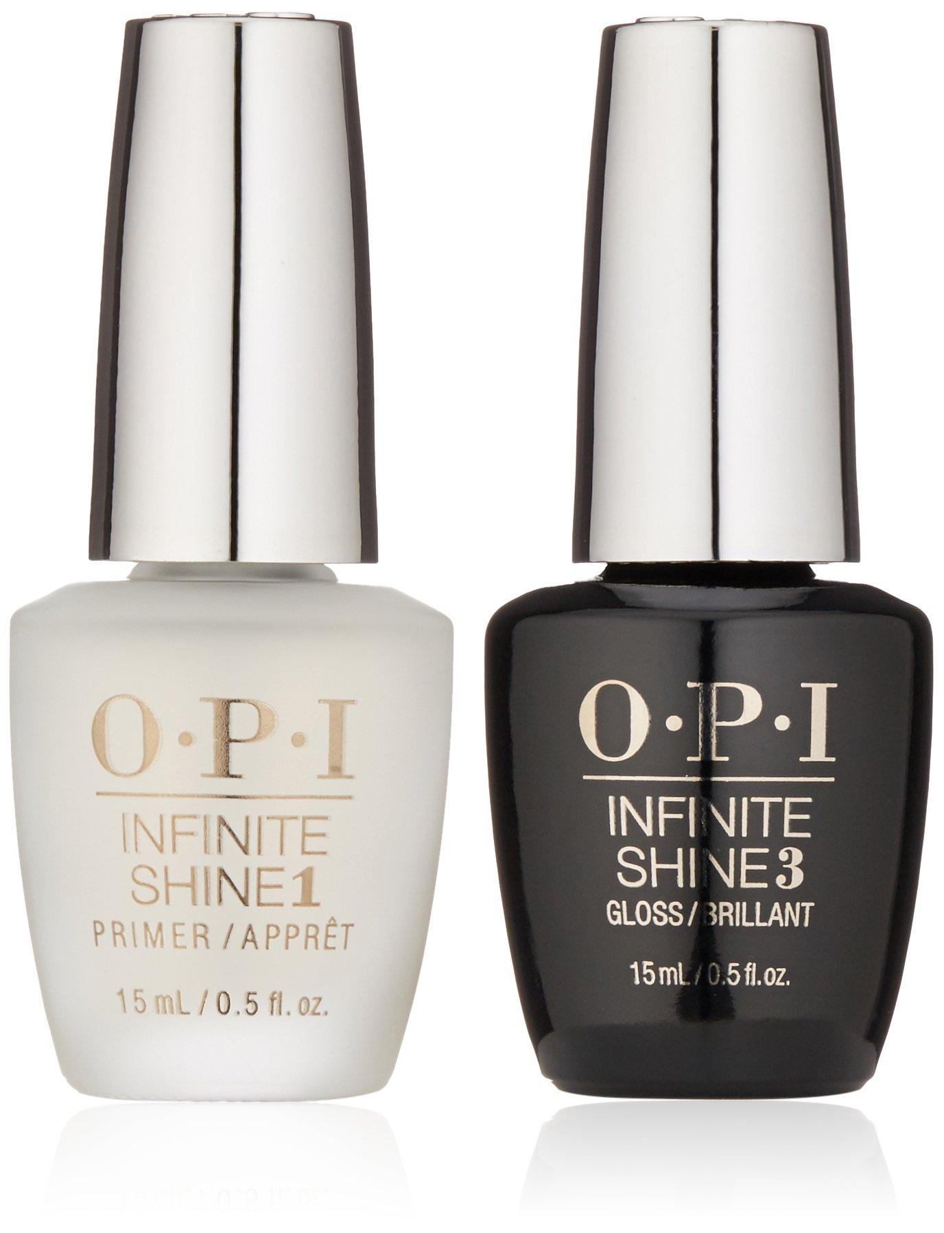 OPI Infinite Shine ProStay Primer & Gloss Duo Pack, 1 fl. oz.