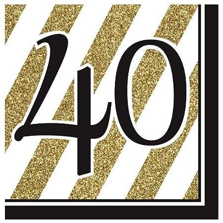 NANAS PARTY Vajilla de 40 cumpleaños para Fiesta de ...