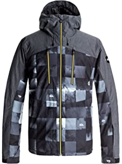 Quiksilver Mission Printed Youth Jk Chaqueta para Nieve ...
