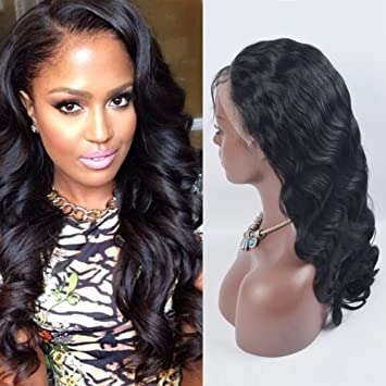Amazon.com : OrderWigsOnline Full Lace Wigs 13% Brazilian Virgin ...