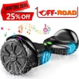 """TOMOLOO Hoverboard with Bluetooth and LED Light Two-wheel Self Balancing Scooter with UL2272 Certified, 6.5"""" Wheel Electric Scooter for Kids and Adult"""
