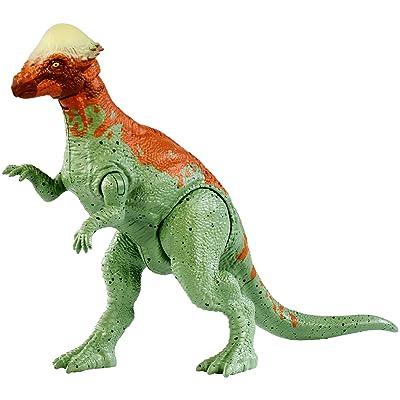 Jurassic World Battle Damage Pachycephalosaurus Figure: Toys & Games