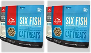 Orijen Six Fish Cat Treats 1.25 Oz. ea. 2 Pack