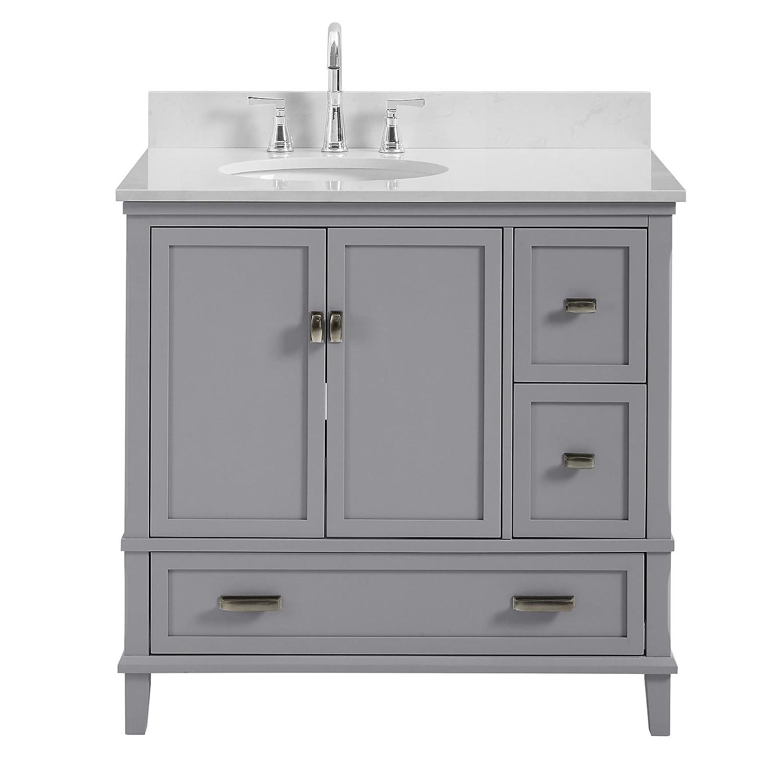 Super Dorel Living Otum 36 Bathroom Vanity Gray Download Free Architecture Designs Terstmadebymaigaardcom
