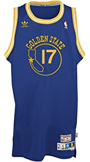 4a6bef425052 adidas Golden State Warriors Chris Mullin Blue Throwback Swingman 7484A  Jersey
