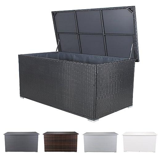 miweba grande XXL arcón Cojín Box 950L baúl de jardín ratán ...