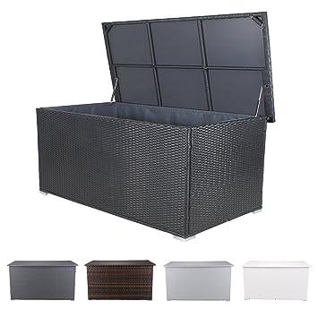 miweba Grande Siège Coussin Boîte de rangement Box Boîte 950L Coffre ...