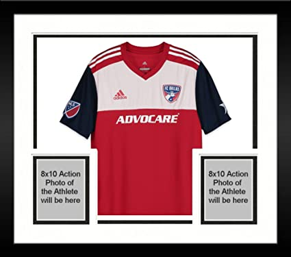 competitive price 2bb56 9a928 Framed Reto Ziegler FC Dallas Autographed Match-Used Red #3 ...