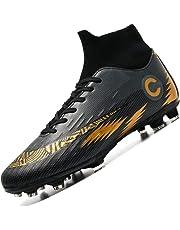 46ba36a19cc103 Donbest Scarpe da Calcio Spike Uomo Tacchetti Professionale del Ragazzo Scarpe  da Allenamento per Calzature da