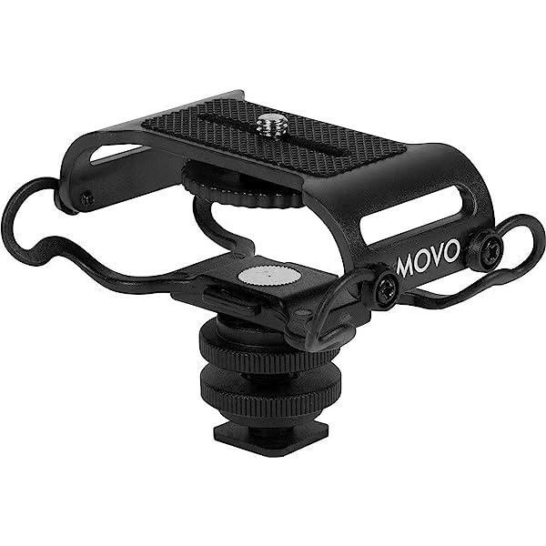 Accommodates Microphones Or Lights Aluminum Mini Folding Bracket for Sony DCR-SX85