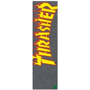 THRASHER Skateboard Griptape by FLAME LOGO MOB SKATE SHEET GRIP 9 in