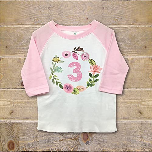 Amazon Third Birthday Shirt 3rd Outfit Clothes Girl Three