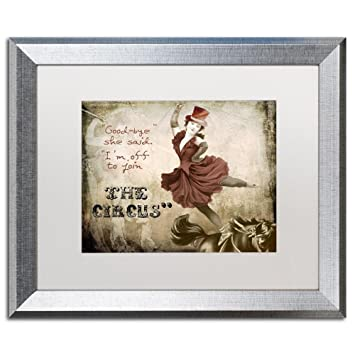 Amazon.com: Join The Circus by Color Bakery, White Matte, Silver ...