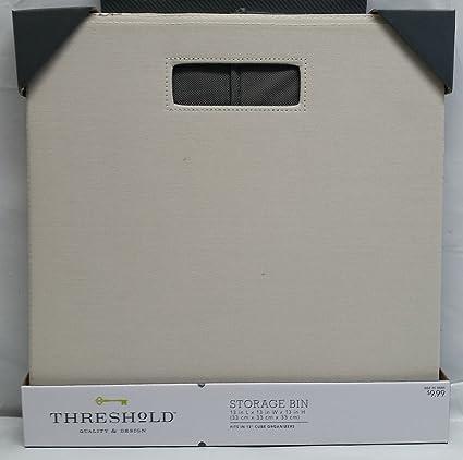 Threshold Fabric Cube Storage Bin 13u0026quot; ...