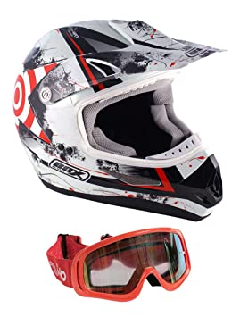 Casco de la motocicleta Box-MX-5 Enduro casco, quad todoterreno casco S