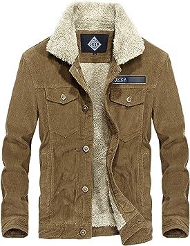メンズコート・ジャケット-ベルベットパッド入りラペル付きの冬の暖かいコットンジャケットメンズジャケット