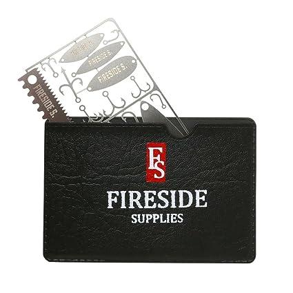 Amazon.com: Fireside Suministros la pesca Tarjeta de ...