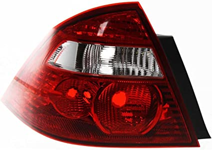 Left Side Replacement Tail Light Assembly For 2005-2007 Ford Five Hundred