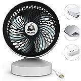 ⭐️KLIM Breeze - Ventilateur de Bureau USB Haute Performance - Ventilo de Table - Silencieux et Ajustable - Blanc [ Nouvelle 2018 Version ]
