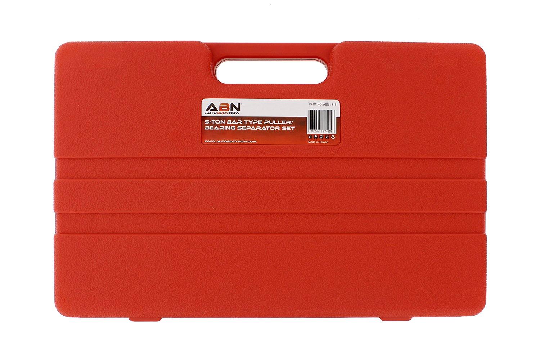ABN Bearing Separator Set, 5-Ton Capacity – Bar-Type Bearing Splitter, Gear Puller, Fly Wheel Separator 12-Piece Kit by ABN (Image #5)