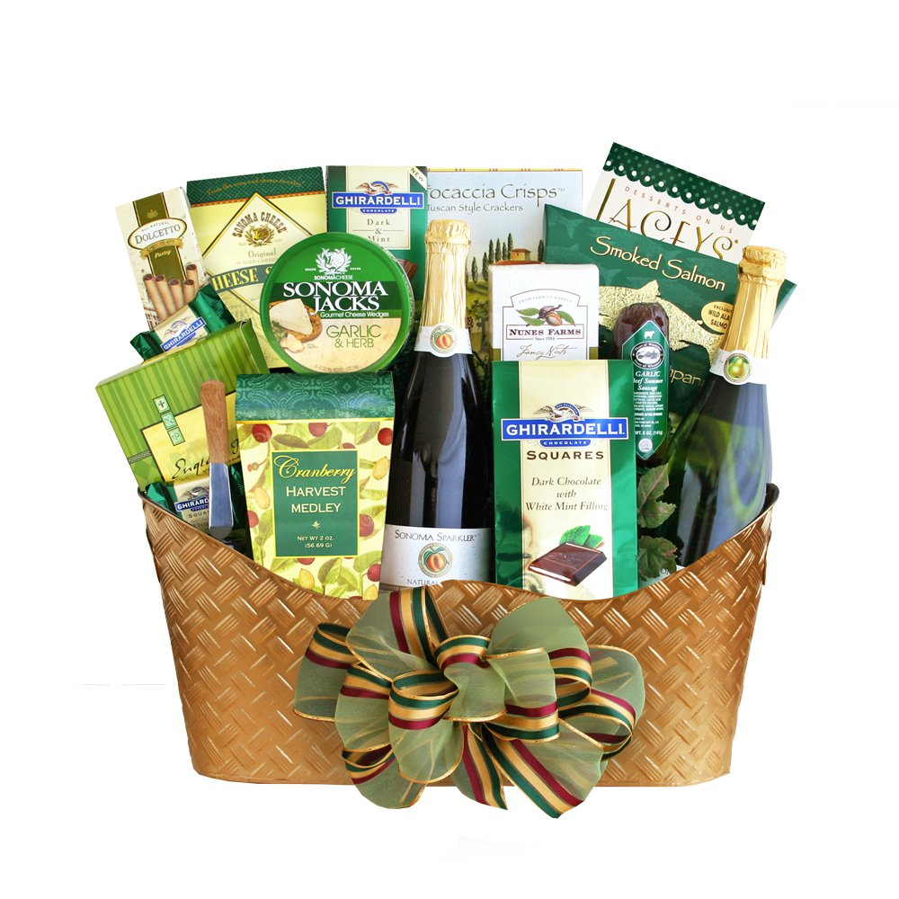 California Delicious Golden Cider Gift Basket