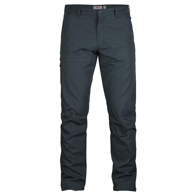 FJALLRAVEN Travellers Trousers M Pantalón, Hombre, Dark Navy, 52