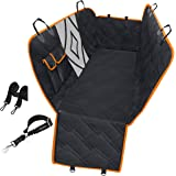 URPOWER Upgraded Dog Seat Covers with Mesh Visual Window 100% Waterproof Dog Car Seat Cover Nonslip Pet Seat Cover for…