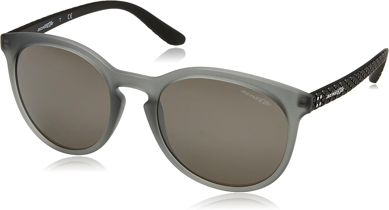 ARNETTE Chenga R Gafas de sol, Matte Transparent Grey, 55 para Hombre