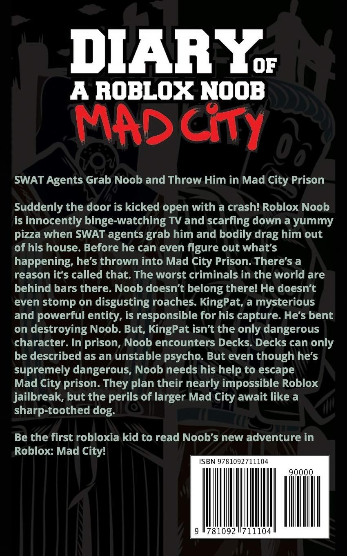 Diary of a Roblox Noob: Mad City (Roblox Book 3): Amazon.es ...