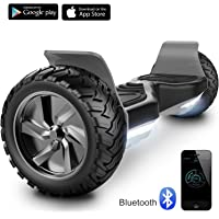 """Cool&Fun 8.5"""" Hoverboard Scooter Patinete Hummer SUV 700W Eléctrico Bluetooth App Self Balancing"""