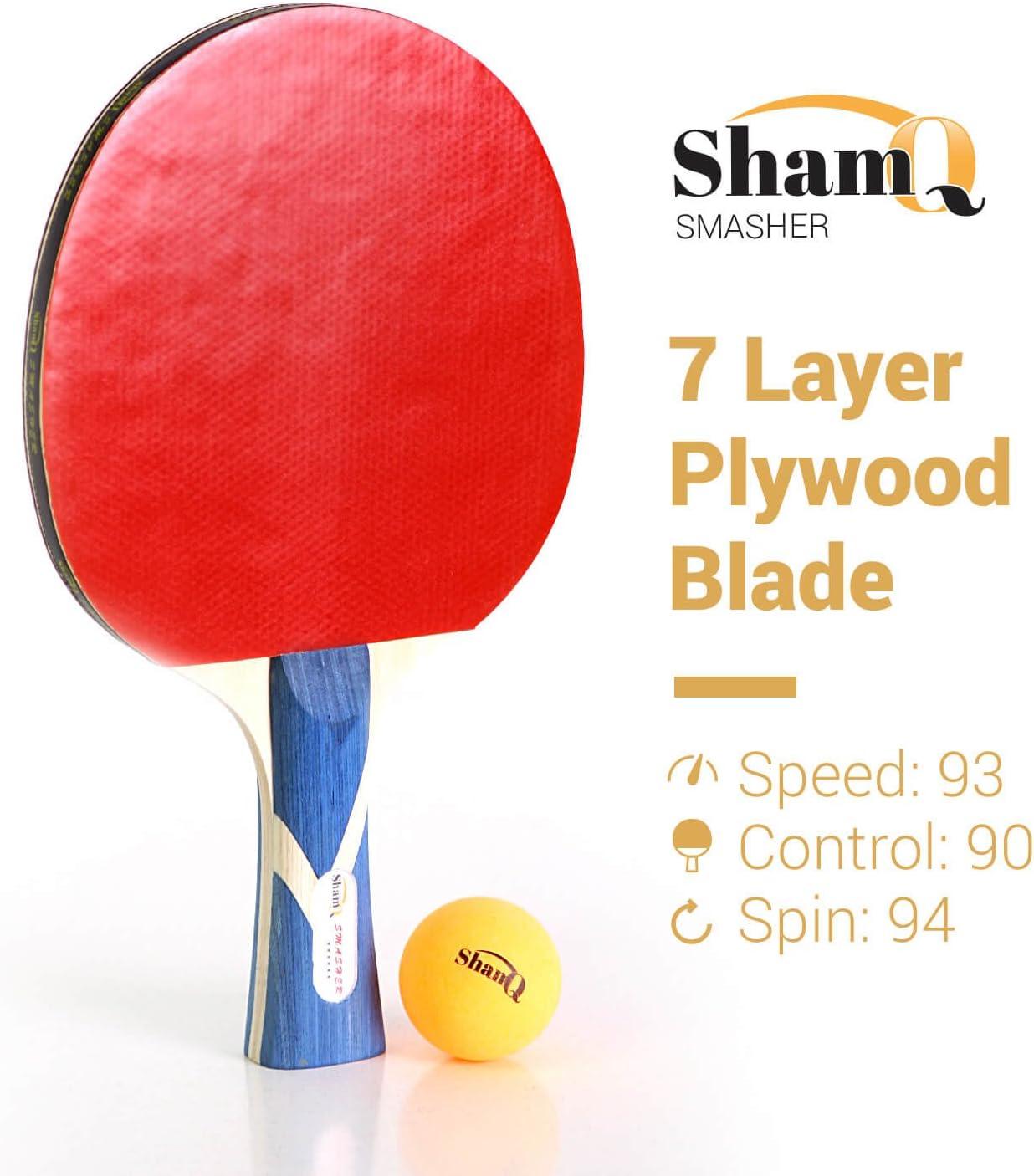 Amazon.com: Smasher 6 estrellas Premium calidad Raquetas de ...