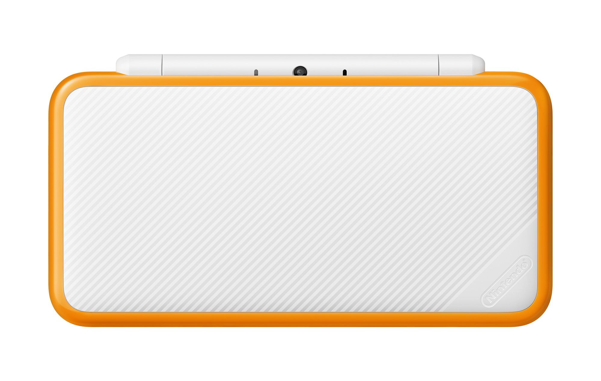New Nintendo 2DS XL Handheld Game Console - Orange + White With Mario Kart 7 Pre-installed - Nintendo 2DS by Nintendo (Image #4)