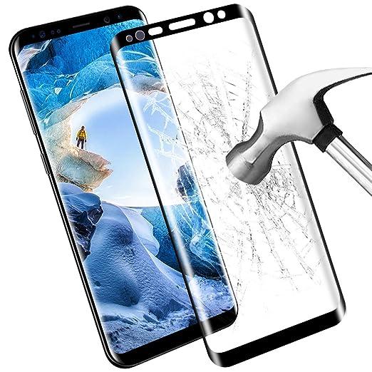 5 opinioni per Samsung Galaxy S8 Pellicola Protettiva, Samione HD Cristallo Film Completo