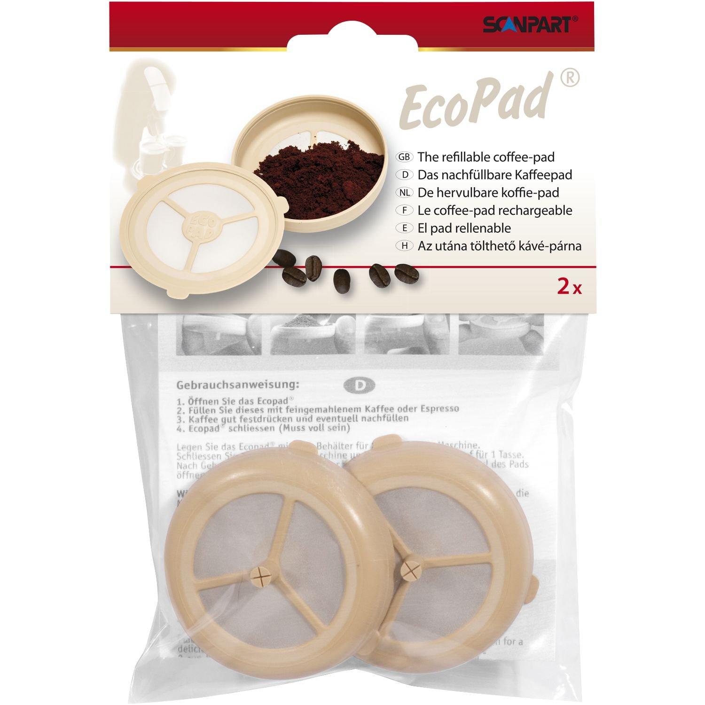 ScanPart - Filtro de larga duración para cafeteras de cápsulas (2 ...