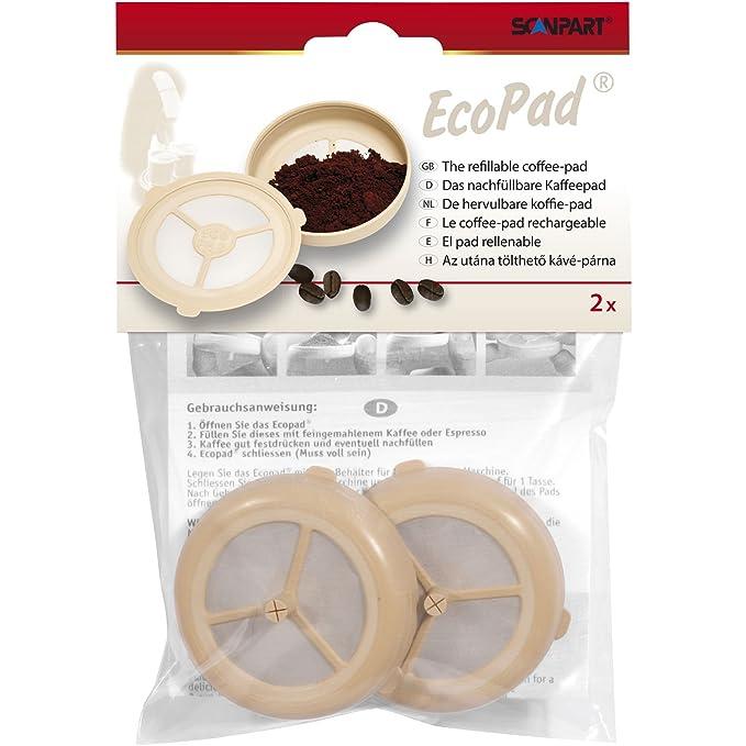 ScanPart - Filtro de larga duración para cafeteras de cápsulas (2 uniades): Amazon.es: Hogar