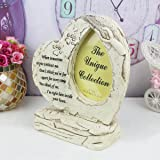 JSYS Pet Memorial Stone for Dog, Heart Shaped