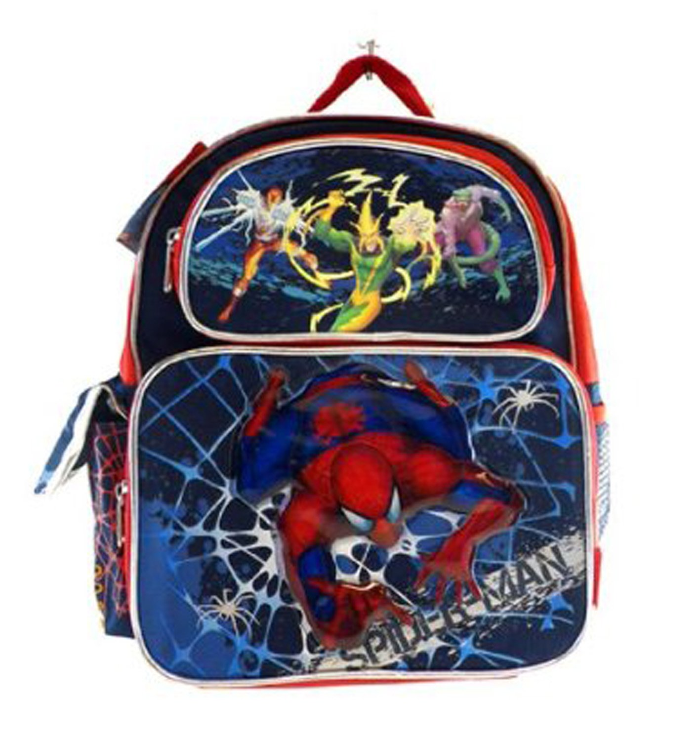 Marvel Small Backpack Spiderman Web Attack New 504908