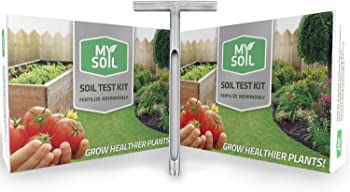 MySoil Pro-Pack | 2 Soil Test Kits, 1 DIY Soil Probe | Grow The Best Lawn and Garden | Know Exactly What Your Soil and Plants Need |