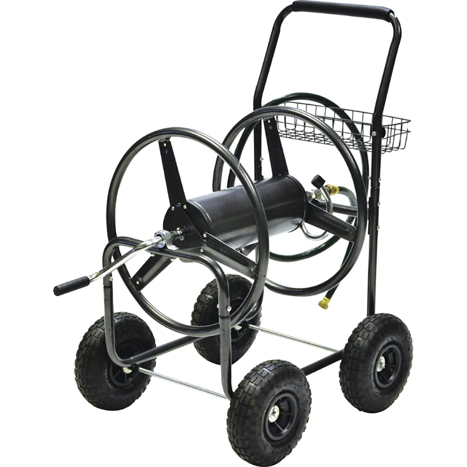 250-Feet Precision Products HR250 Hose Reel Cart