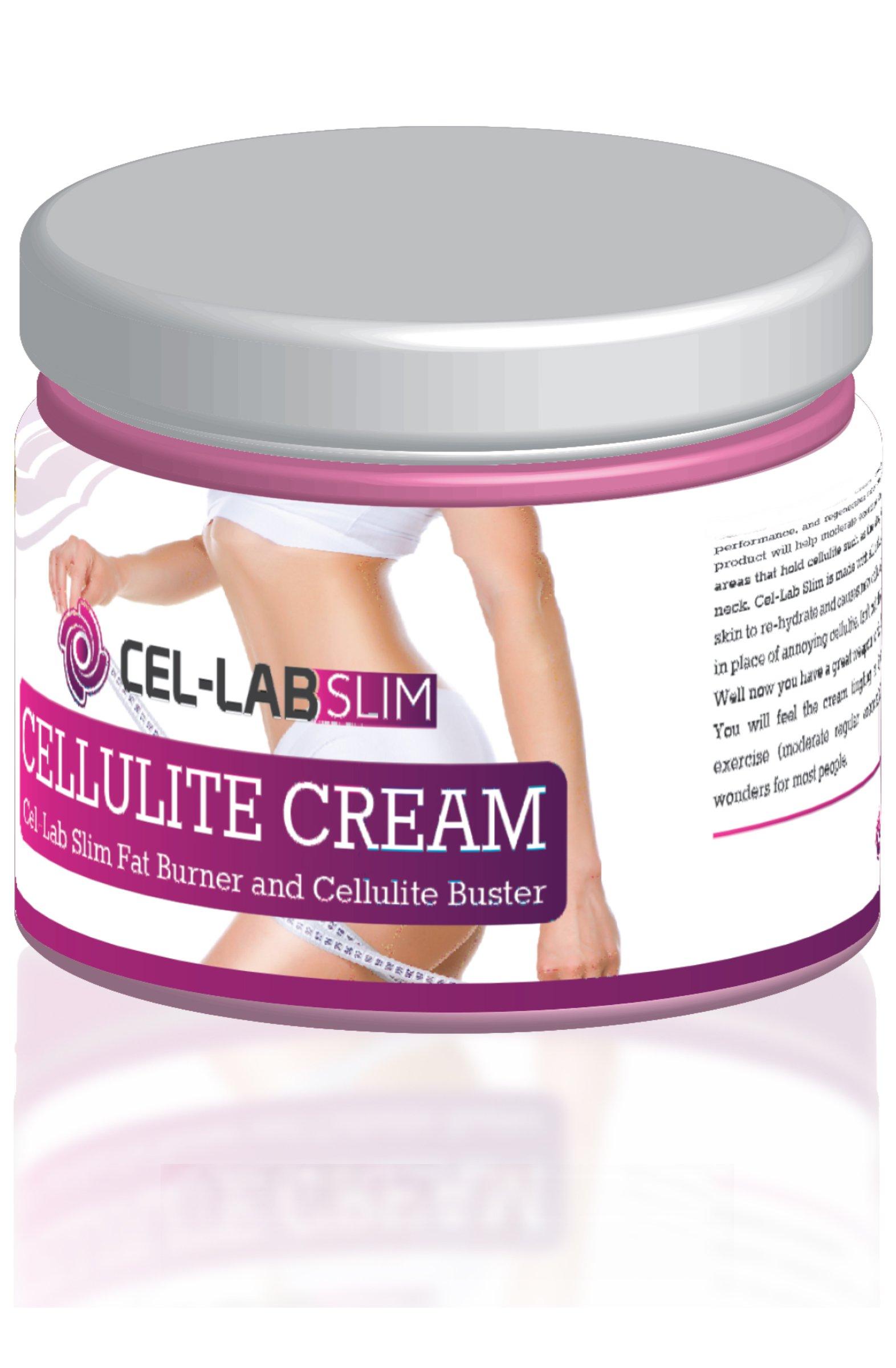 ALL NATURAL CELLULITE CREAM 6.7 oz 200ml CEL-LAB SLIM Slimming Cream Potent Skin-Firming Anti-Cellulite Formula |