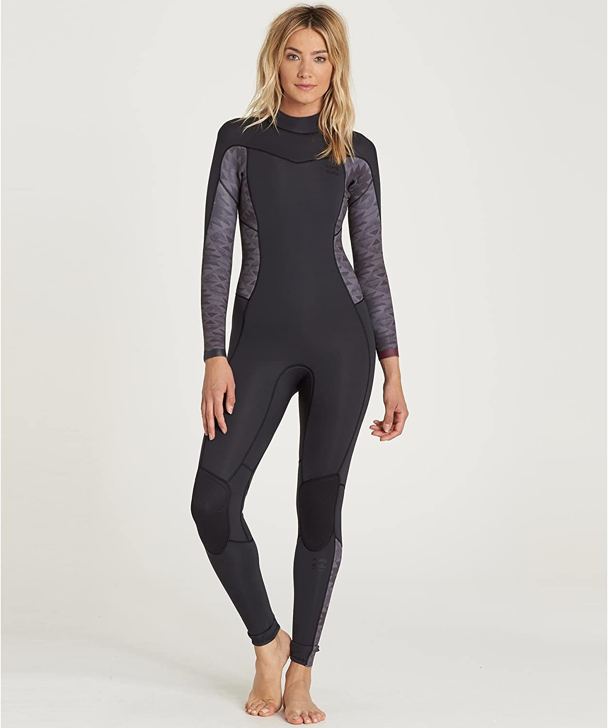 Billabong Women's Synergy 3/2 Back Zip Sealed Seam Full Wetsuit