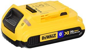 DEWALT DCB203BT 20V MAX 2Ah Compact Battery with Blue Tooth
