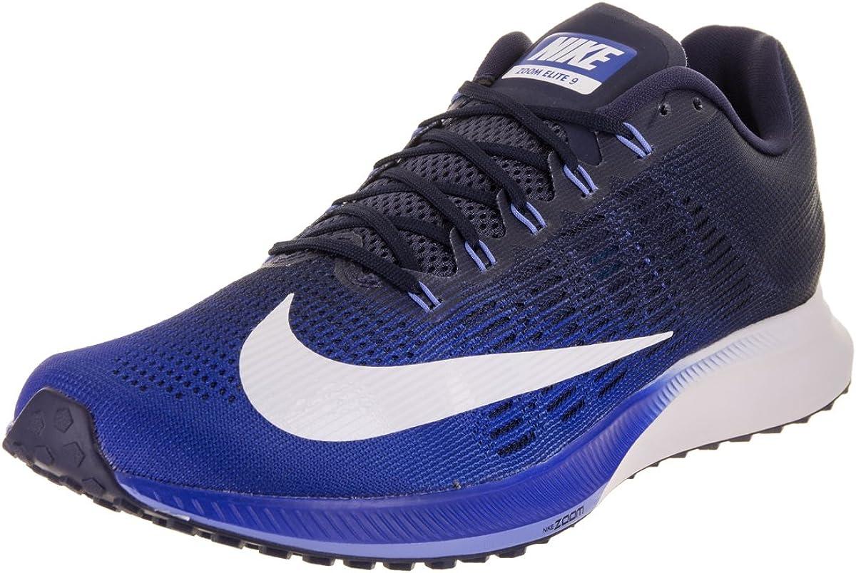 Nike Air Zoom Elite 9, Zapatillas de Running para Hombre, Multicolor (Hyper Royal/White Ne 406), 40 EU: Amazon.es: Zapatos y complementos