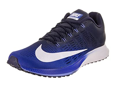 54f07adcc7cf Nike Men s Air Zoom Elite 9 Running Shoe Hyper Royal White-Neutral Indigo  9.0