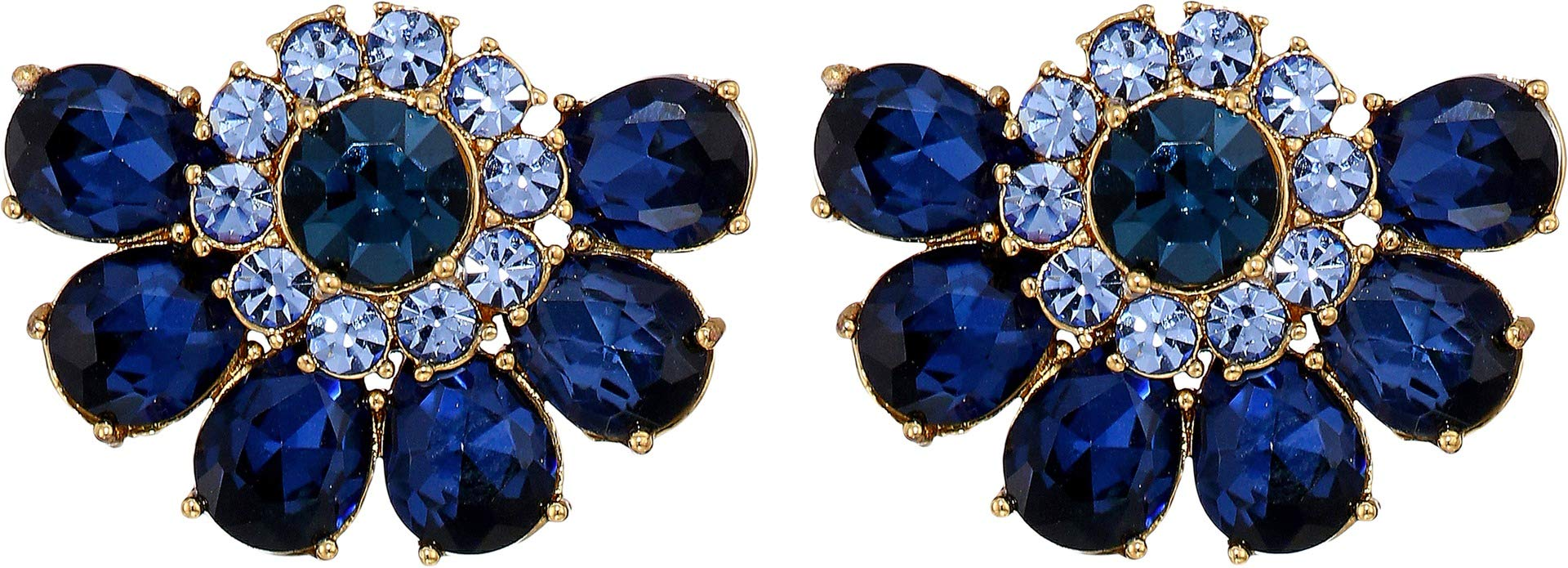 Kate Spade New York Women's Bright Ideas Cluster Studs Blue Multi One Size