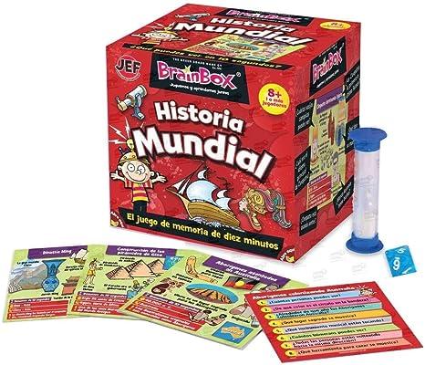 Brain Box Juego de Memoria Historia del Mundo, Multicolor (31693417A): Amazon.es: Juguetes y juegos