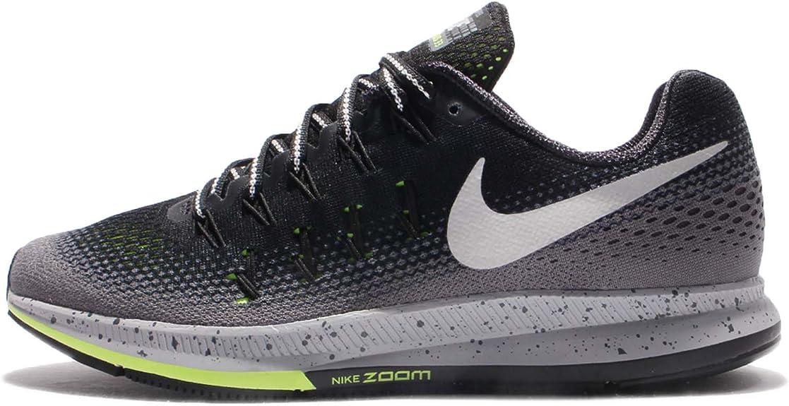 Amazon.com: Nike de los hombres Air Zoom Pegasus 33, negro ...