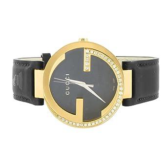 2a61f12029e Amazon.com  Mens Interlocking Gucci YA133312 Latin GRAMMY® 43MM 1.0 Carat  Diamond Watch  Watches
