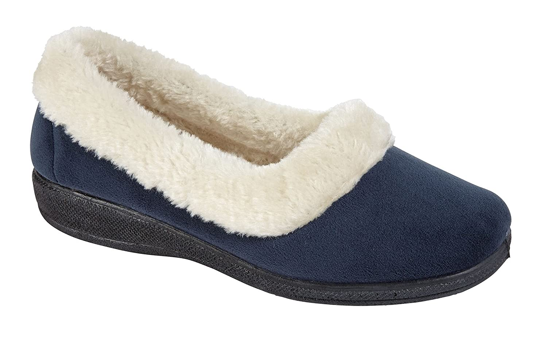 Nouveaux Ladies sur Door Bed Bottes Mules Bed Chaussures Escarpins Escarpins Femmes Slip sur Chaussures Hiver Chaussons SUSAN-Petrol 1add865 - boatplans.space