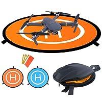 WisFox TY-01 - Rampa drone, pieghevole, impermeabile, 75 cm, per DJI Mavic Pro Phantom 2/3/4 Inspire 1